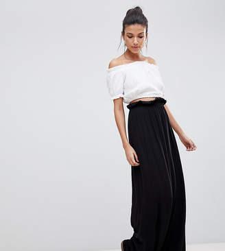 ASOS Tall ASOS DESIGN Tall Maxi Skirt With Paperbag Waist