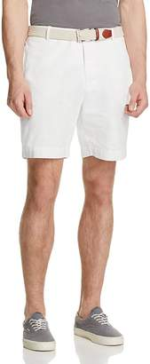 TailorByrd Garment Washed Twill Shorts $79.50 thestylecure.com