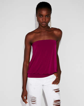 Express Banded Bottom Tube Top