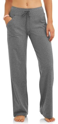 Athletic Works Women's Dri More Core Relaxed Fit Yoga Pant Available in Regular and Petite