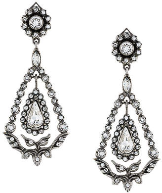 No.21 romantic strass earrings