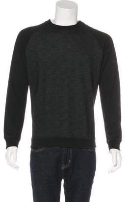 The Kooples Houndstooth Crew Neck Sweater