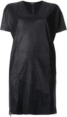 Diesel V neck short dress