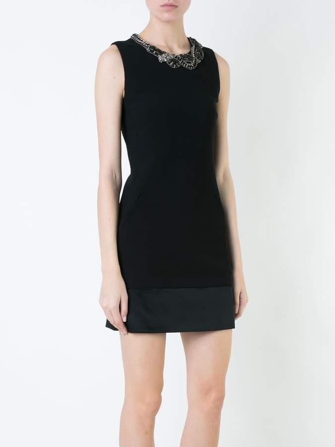 Barbara Bui embellished neck mini dress