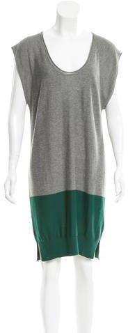 Alexander WangT by Alexander Wang Colorblock Knit Dress