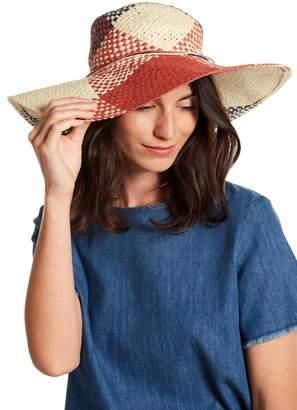 La Fiorentina Tie Detail Straw Hat
