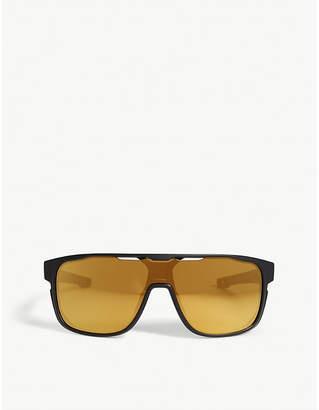c9df42112ef63 Oakley Crossrange Shield rectangle-frame sunglass