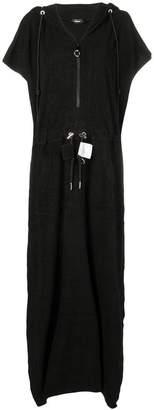 Diesel zipped hooded dress
