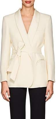 BLAZÉ MILANO Women's Essentials Wool Belted Blazer - Cream