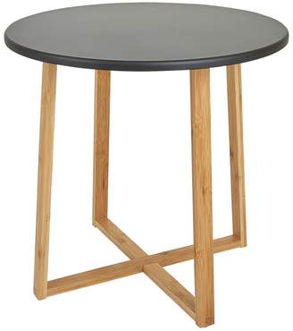 DREW Bamboo and lacquer large side table