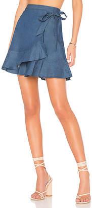 BCBGeneration Flirty Wrap Skirt.