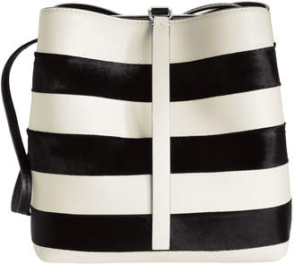 Proenza Schouler Framed Stripe Shoulder Bag