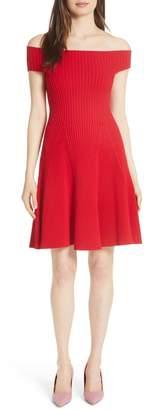 Kate Spade Off The Shoulder Sweater Dress