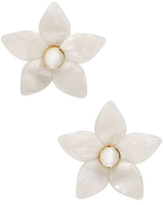 BaubleBar Ashaya Floral Resin Drop Earrings