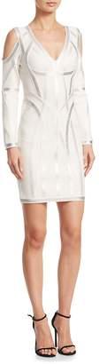 Herve Leger Women's Hayden Cold-Shoulder Dress