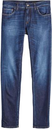 Dolce & Gabbana Slim Jeans with Pocket Patch