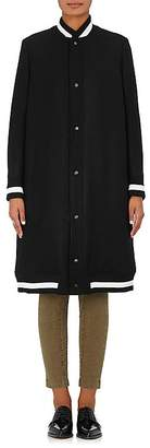 The RERACS Women's Wool Melton Bomber Coat