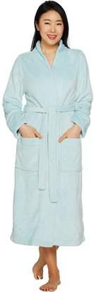 Berkshire Blanket Velvet Soft Waffle Burnout Full Length Robe by Berkshire