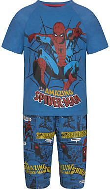 Children's Short Pyjamas, Mid Blue