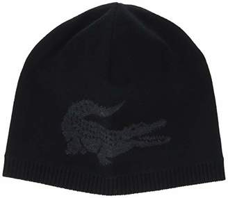 b7f23f1ed74 lacoste men s rb9882 beanie one size vast selection 10929 87bbf ...