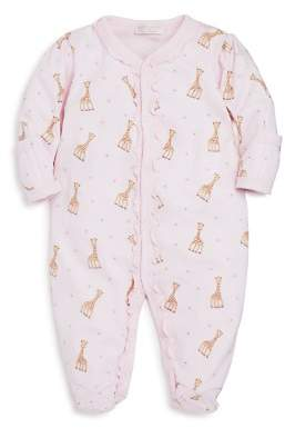 Kissy Kissy Girls' Sophie La Girafe Print Footie - Baby
