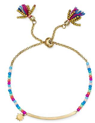Rebecca Minkoff Sole Beaded Slider Bar Bracelet