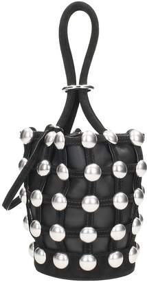 Alexander Wang Dome Stud Mini Roxy Bucket Bag