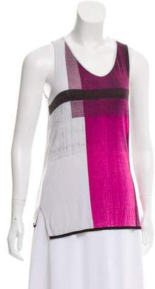 Helmut Lang Sleeveless Printed Top