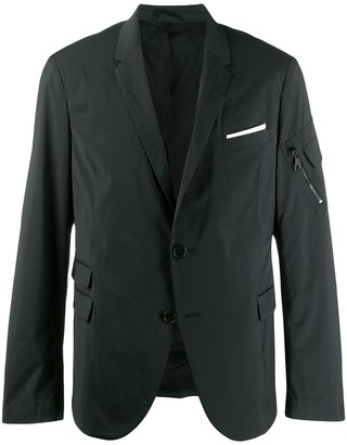 Neil Barrett zip pocket blazer