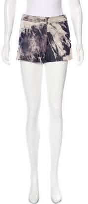 Celine Dip-Dye Denim Shorts