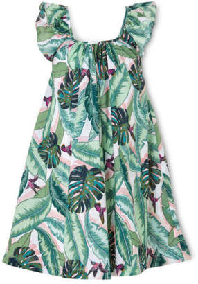 Seafolly NEW Frill Dress Green