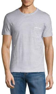 Zadig & Voltaire Stockholm Raye Striped Cotton Tee