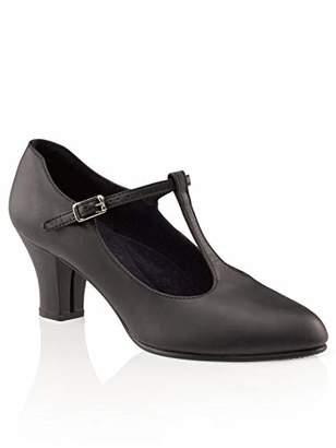 Capezio Jr. Footlight T-Strap Dance Shoe - 11.5 M US