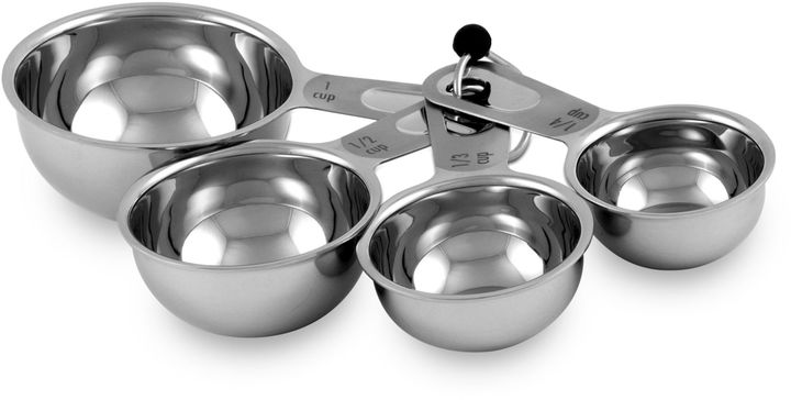 Bed Bath & Beyond Culinary Institute of America® 4-Piece Stainless Steel Measuring Cup Set