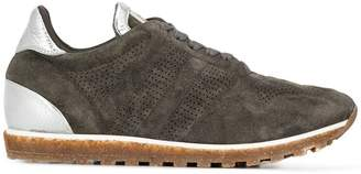 Alberto Fasciani perforated lace-up sneakers