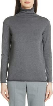 Fabiana Filippi Metallic Turtleneck Sweater