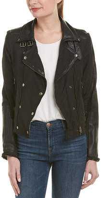 Jakett Harley Leather-Trim Jacket