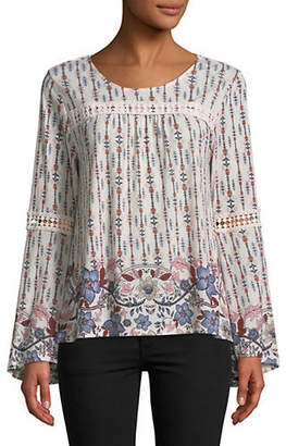Style&Co. STYLE & CO. Floral-Print Blouse