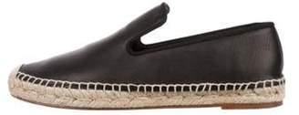 Celine Céline Leather Espadrille Flats Black Céline Leather Espadrille Flats