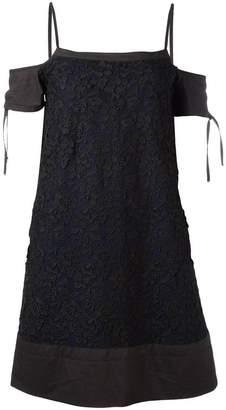 Diesel Black Gold floral lace dress