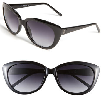 Vince Camuto 55mm Plastic Cat's Eye Sunglasses