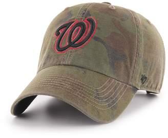 '47 Men's Washington Nationals Sector Clean Up Hat
