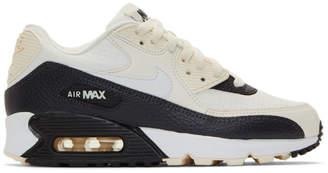 Nike (ナイキ) - Nike ホワイト and ブラック エア マックス 90 スニーカー