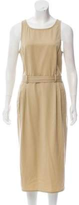 Bottega Veneta Belted Sheath Dress