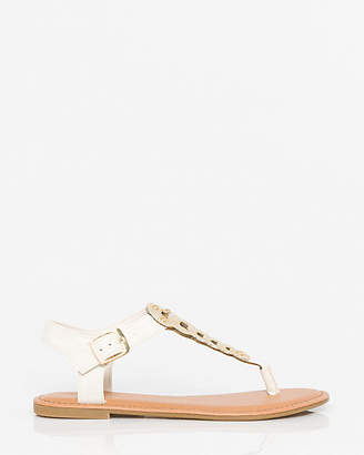 Le Château Leather-Like Thong Sandal