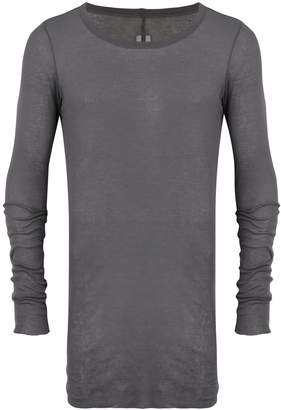 Rick Owens sheer crew neck sweater