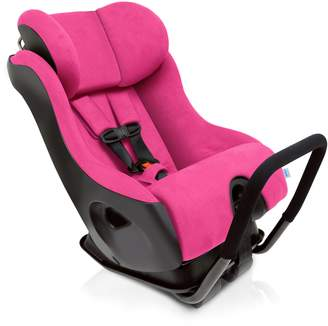 Clek Fllo Convertible Baby and Toddler Car Seat Rear and Forward Facing with Anti Rebound Bar, Flamingo