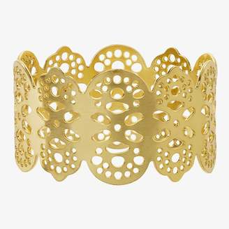 ABC Home Eyelet Napkin Ring Gold