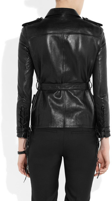 Saint Laurent Safari leather top
