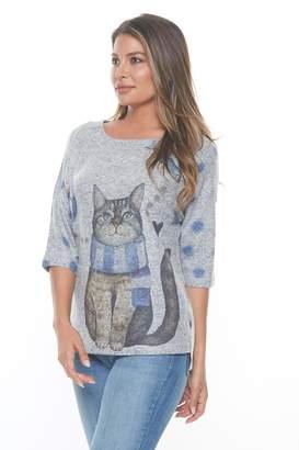 Inoah Knit Cat Top
